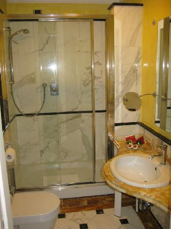 Hotel Opera Roma: View of the toilet