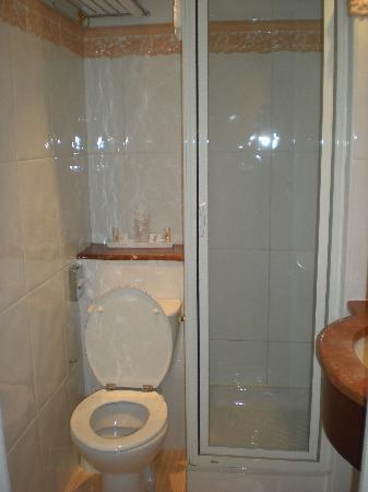 Hotel Duquesne Eiffel: Il bagno