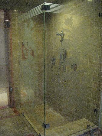 Valentin Imperial Riviera Maya: tres garnde douche vitrée