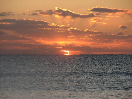 Playa del Secreto, Mexiko: levé de soleil