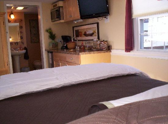 Green Turtle Floating Bed and Breakfast: Each suite has a kitchenette and en suite bathroom aboard Green Turtle I.
