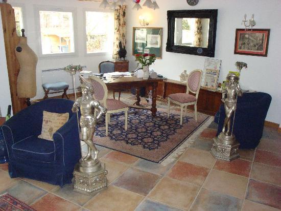 Logis A La Villa Boucicaut: Réception