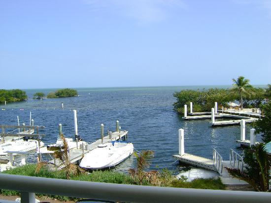MB at Key Largo: fantastic view from balcony