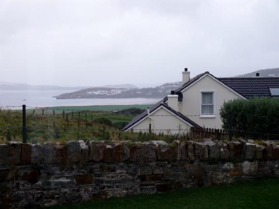 Downings Coastguard Cottages: View from the living room
