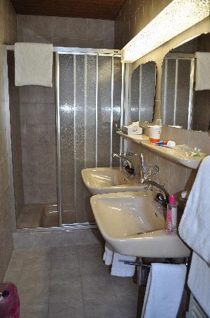 Hotel Alpina Luzern: nice bathroom