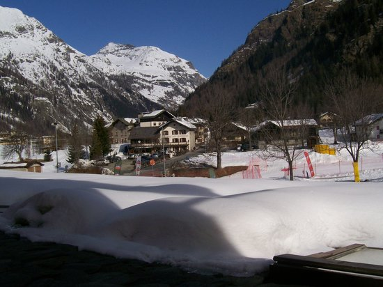Gressoney Saint Jean, Italia: dalla nostra finestra