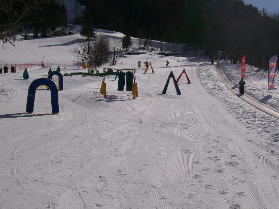 Hotel Flora Alpina: lo snow park