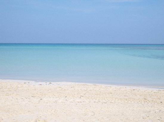 Sol Cayo Coco: Beautiful white sand beach