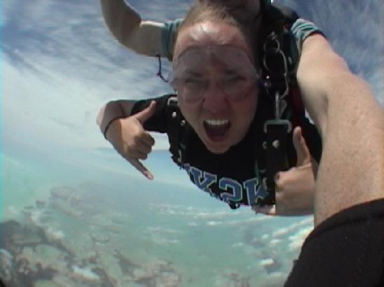 Skydive Key West: 40 second free fall!