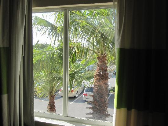 Fairfield Marriott Titusville Kennedy Space Center: View from our window