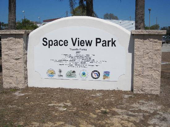 Fairfield Inn & Suites Titusville Kennedy Space Center: New sign at Space View Park