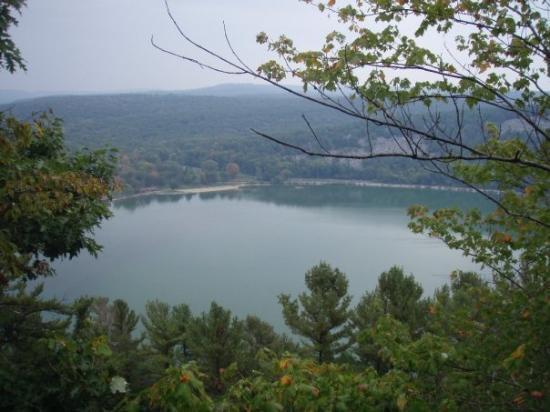 Wisconsin Dells, WI: Devil's Lake