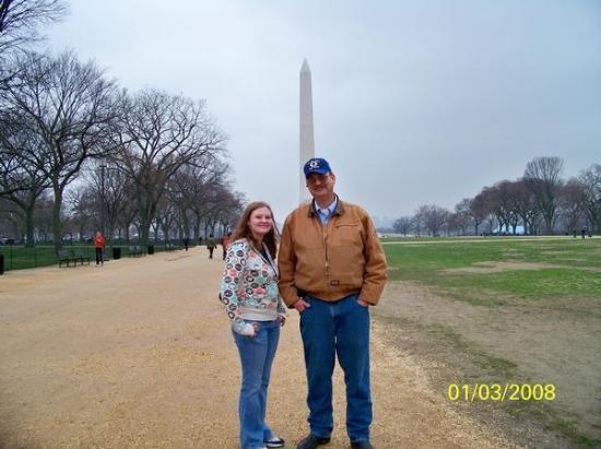 Washington Monument: Me, Dad, and the Washington Memorial