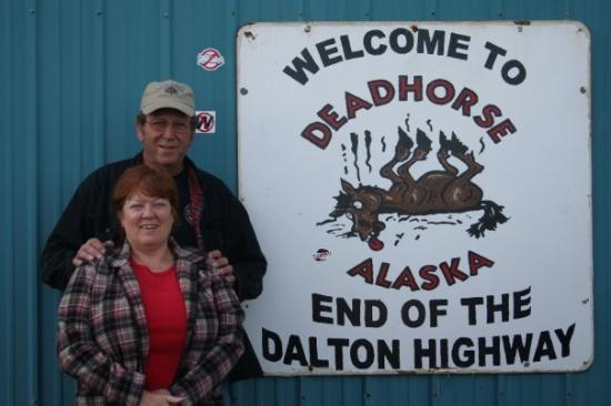 Deadhorse, AK: The end of the road...as far north as you can drive.