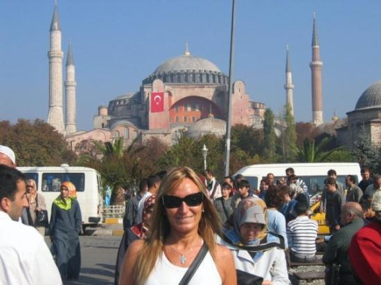 Hagia Sophia Museum/Kirke (Ayasofya): SANTA SOFIA - ESTAMBUL                  TURQUÍA