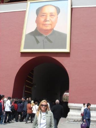 Tiananmen Square (Tiananmen Guangchang): PLAZA de TIAN'ANMEN - BEIJING - CHINA En chino: 天安門廣場 Significa:Plaza de la Puerta de la Paz