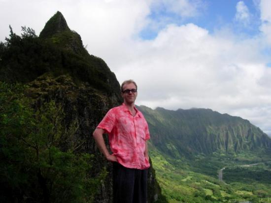 Bilde fra Nuuanu Pali Lookout