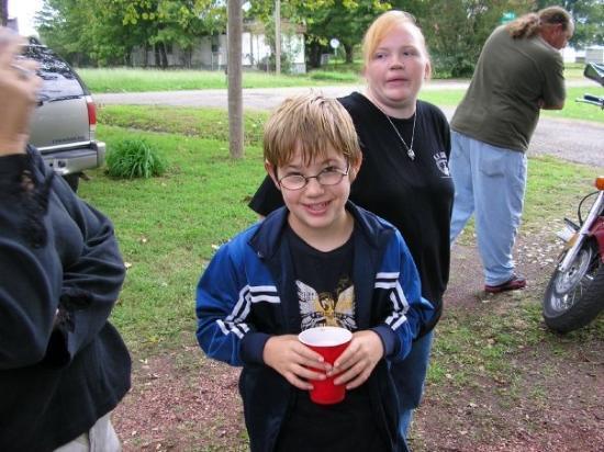 Bokoshe, OK: My youngest nephew Steven Jr.