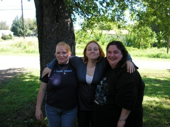 Bokoshe, OK: Lee Ann, Emily, and Me