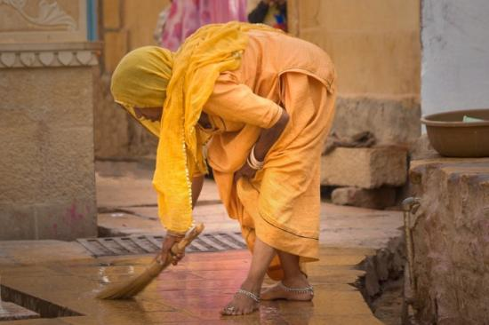 Jaisalmer, India: Indians are amazing and inventive people. The only thing I do not understand is why they still h