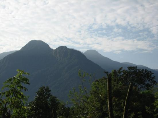La Ceiba, Honduras: Udsigt til bjergene, La Unión