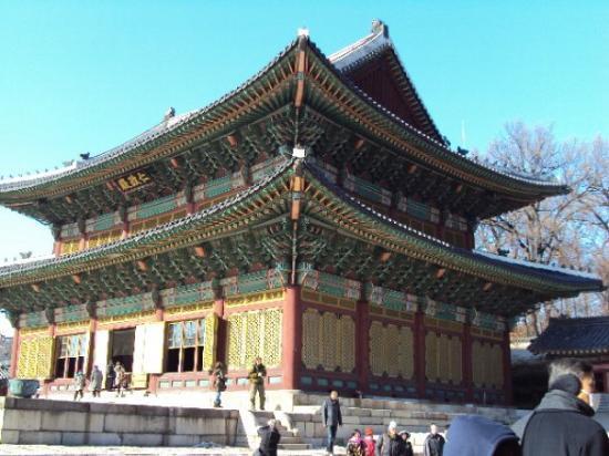 Bilde fra Changdeokgung Palass