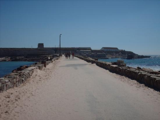 Tarifa, Spania: Izquierda: Mar Mediterraneo Derecha: Oceano Atlantico
