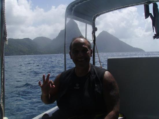 """Pitons: LET'S  GET  READY  TO  """"BLOW  SOME  BUBBLES""""."""