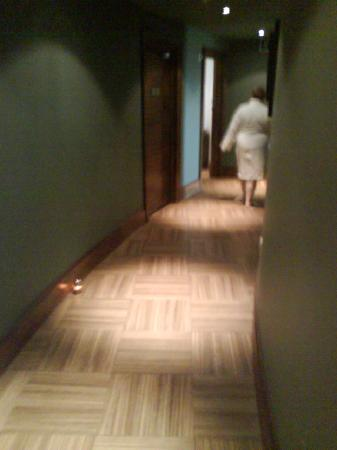 Macdonald Portal Hotel, Golf and Spa: headin to the spa,
