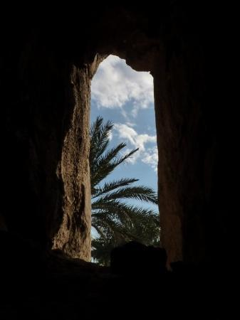 Aqaba, Jordan: view through one of the 'windows'