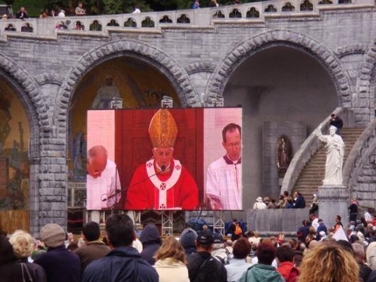 Bilde fra Lourdes