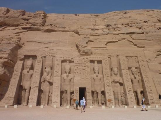 Abu Simbel, Egypt: The 2nd temple at the site
