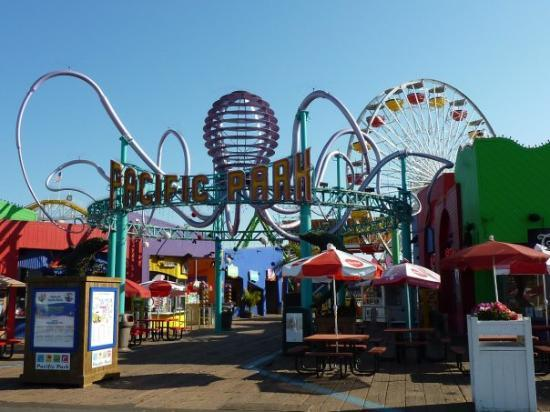 Amusement Park at Santa Monica Pier
