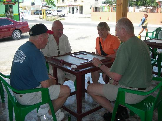 Punta Cana Mike's Dominican Adventure: dominoes