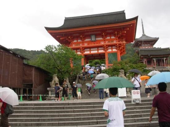 Kiyomizu-tempelet: Kiyomizu Temple (more stairs)