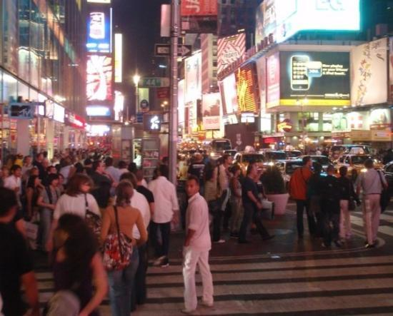 Times Square: W tłumie
