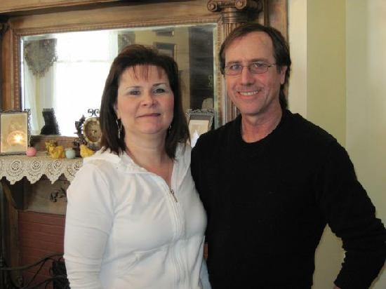 Bisland House Bed and Breakfast: Byron & Christine Tims