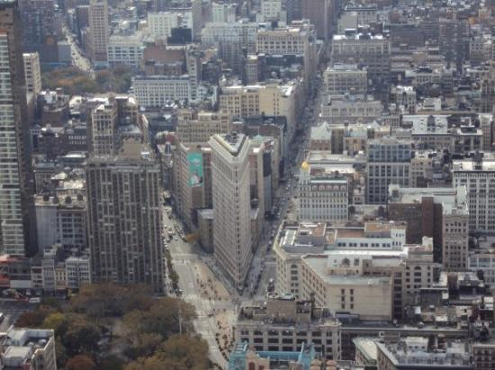 Flatiron Building from Empire State Building