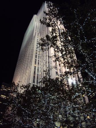 'Top of the rock' utsiktspost, Rockefeller New York: Top of the rock - Rockefeller Center