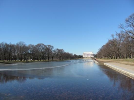 Bilde fra Lincoln Memorial