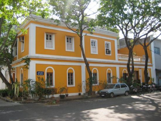 Pondicherry, India: The French quarter