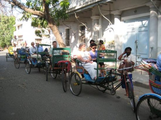 Rickshaws in Pondicherry