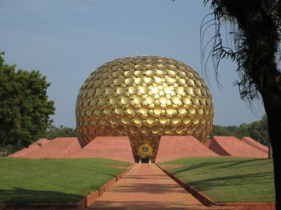 Pondicherry, India: The Matrimandir at Auroville