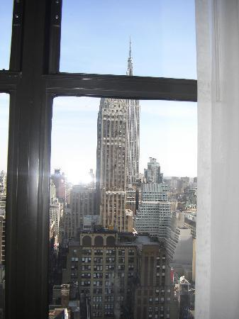 The New Yorker A Wyndham Hotel: View Room 4009 from bedroom