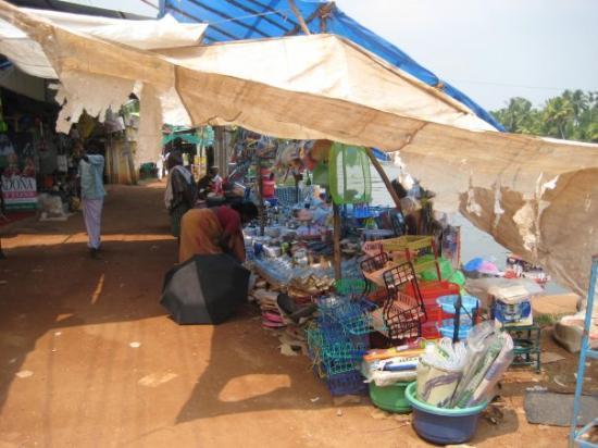 Alappuzha, India: A village market at Champakulam, Kerala