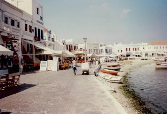 July 1997 Mykonos Island, Greece