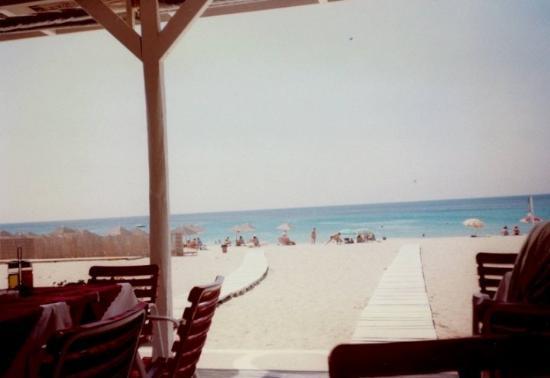 July 1997 Paradise Beach, Mykonos, Greece