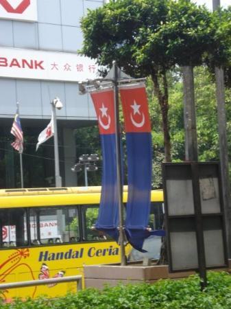 Johor Bahru, Malaysia: Turk bayragi :D