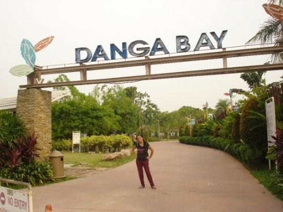 Johor Bahru, Malaysia: Danga Bay semti