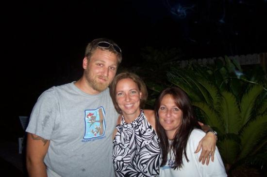 Indialantic, FL: My nephew Josh, me, and his wife Emmy... What a great couple..